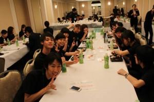 HanaMichiの学生ボランティアもたくさん!