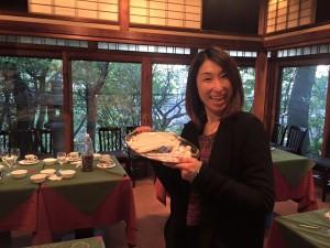 よし川グループ社長でHanaMichiの監事にも就いてくださっている豊田涼子さん。いつもありがとうございます!